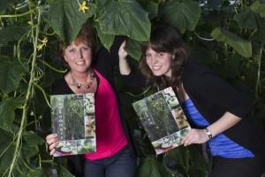 foto boek tussen de komkommers